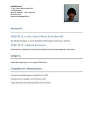 Fichier PDF wassim samad cv