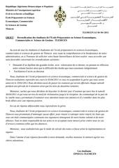 lettre des etudiants epsecg
