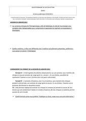 questionnaire gmv2