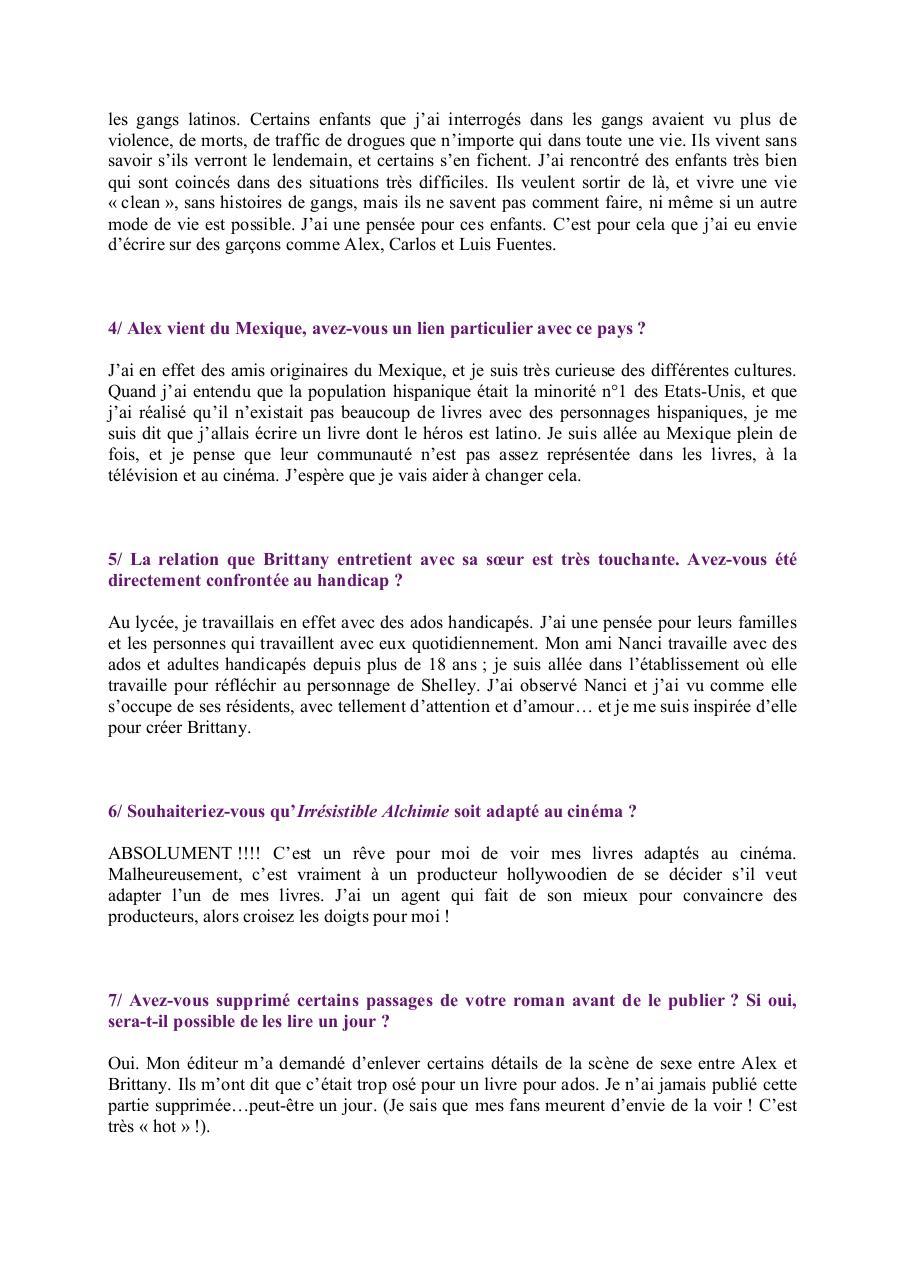 Questions Simone Elekles Doc Par Charlotte Guitard Simone