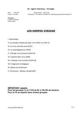 p2 agentinfectieux herpesviridae 07 03 11