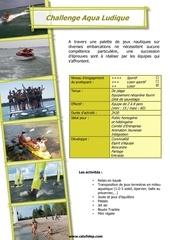 Fichier PDF activ challenge aqualudique