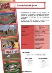 activ challenge multisport
