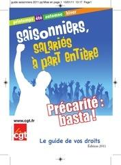 saisonniers 2011 pp