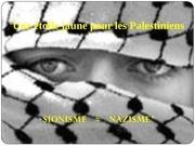 une etoile jaune pour les palestiniens