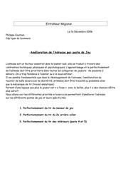 Fichier PDF amelioration de l adresse par poste de jeu philippe courbon