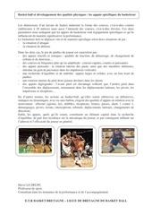les appuis specifique du basketteur 1