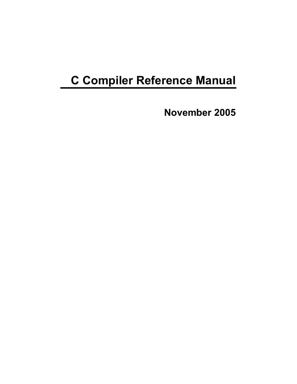 Aperçu du document C Reference Manual.pdf - page 1/306