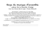 stage musique d ensemble