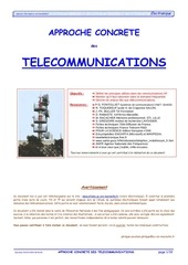 Fichier PDF approche telecom