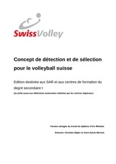 concept de detection et de selection