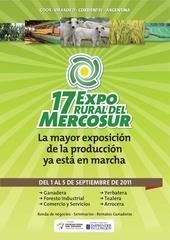expo rural mercosur carpeta comercial