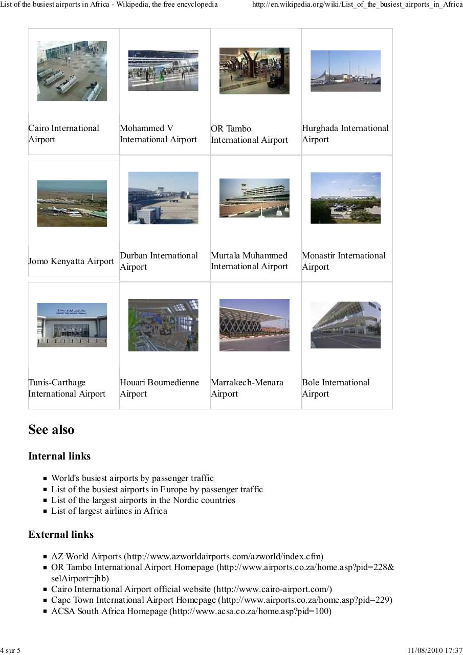Aperçu du document List of the busiest airport in africa.pdf - page 4/5
