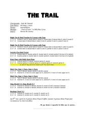 Fichier PDF the trail