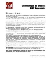 communique de presse cgt freescale 22 avril 2011