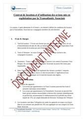 contrat de location 1