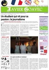 cv lettre de motiv journal 2011