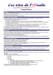 reglement 20interieur