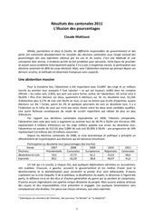 resultats des cantonales 2011a