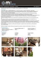 Fichier PDF vente appartement marrakech gueliz