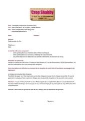 fiche d inscription crop shabby 8 et 9 oct 2011