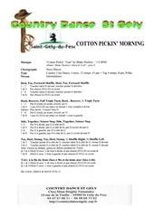 cotton pickin morning