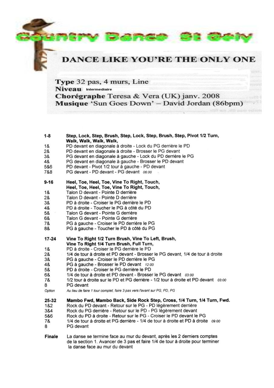Aperçu du document dance like you-re the only one.pdf - page 1/1