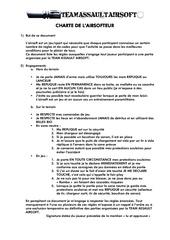 charte de lairsofteur