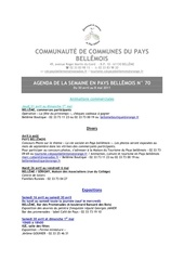 Fichier PDF agenda de la semaine en pays bellemois n 70