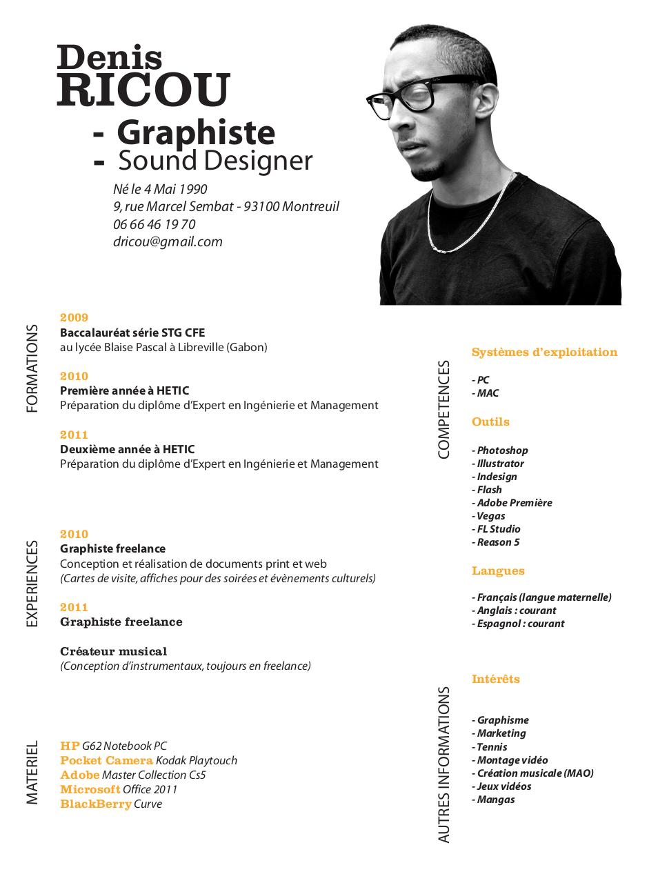 Word 2010 Resume Template