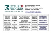 pro nature et progres