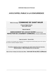 Fichier PDF publicite marche public de travaux saint maur
