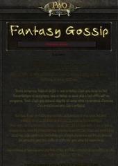 fantasy gossip 1er edition
