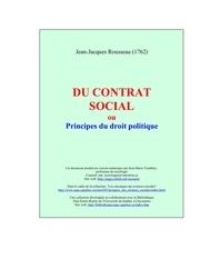 le contrat social jean jacques rousseau