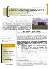 bulletin information education plus mai 2011