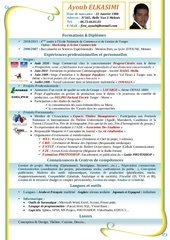 Fichier PDF cv ayoub elkasimi v 4eme annee2
