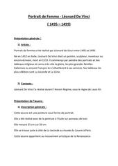 Fichier PDF portrait de femme vierge aux rochers