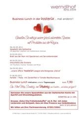 businesslunch kw 18