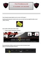 Fichier PDF valider un score