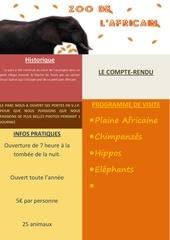Fichier PDF zoo de l africain