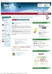 apprenez crer votre site web 2