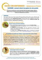 ifce info leveur naissance race conventionn e2011
