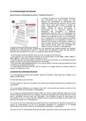 2011 05 10 le communique de presse