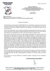 irrespect des droits syndicaux au sein du sdis 60 pdt casdis 60 le 02 05 2011