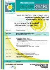 programme demi journee 16 juin 2011 hopital roubaix