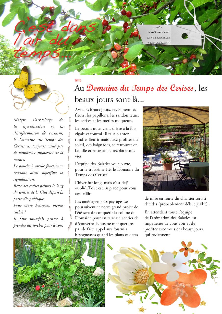 Aperçu du document journal printemps 2011.pdf - page 1/4