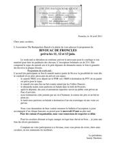 bivouac froncles