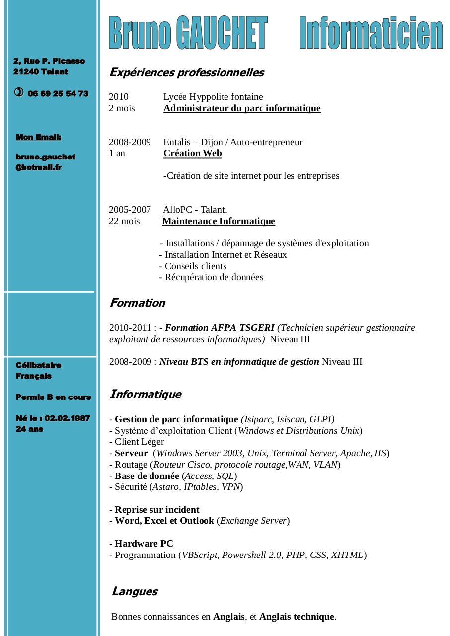 boncv com par boncv com - cv - gauchet bruno pdf