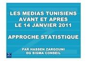 les medias tunisiens avant et apres le 14 janvier 2011