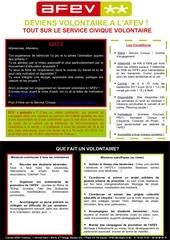 newsletter volontariat 2011